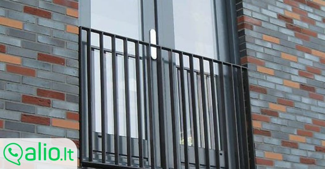 Pranc zi ki balkonai kiti metalo gaminiai for Modern french balcony
